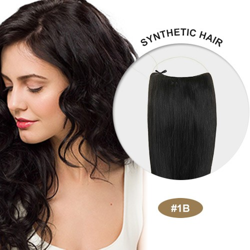 "COCO Synthetic Secret Hair 16"" Natural Black(#1B)"