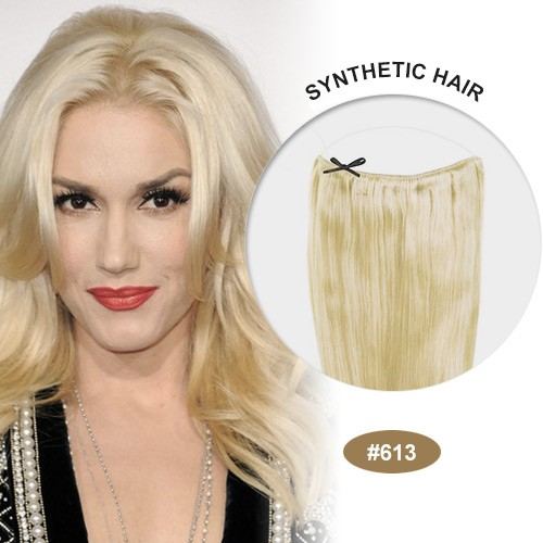 "COCO Synthetic Secret Hair 16"" Bleach Blonde(#613)"