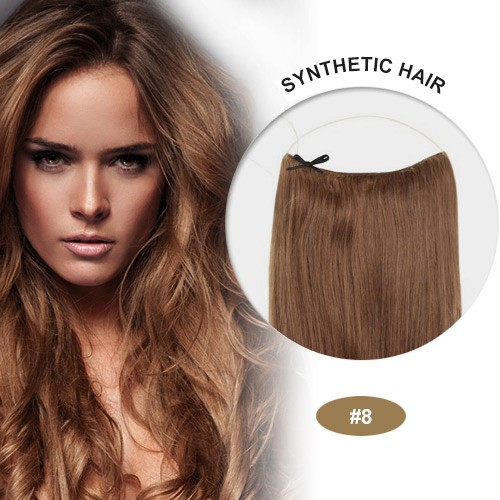 "COCO Synthetic Secret Hair 16"" Ash Brown(#8)"