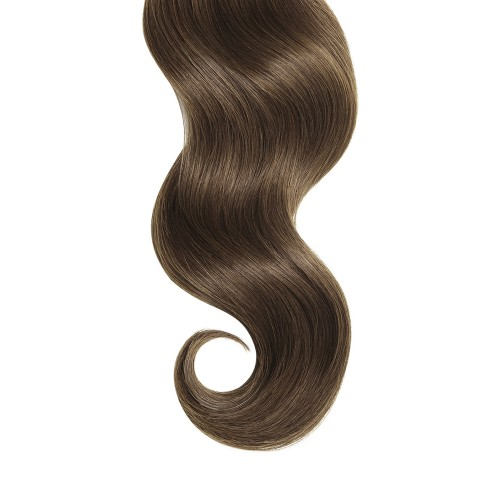 "14"" Ash Brown(#8) 7pcs Clip In Synthetic Hair Extensions"