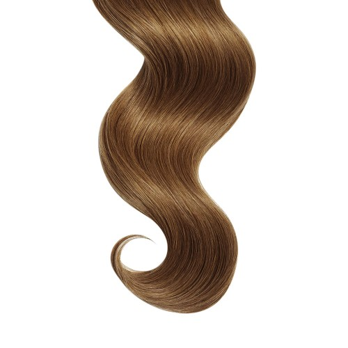 "16"" Golden Brown(#12) 7pcs Clip In Human Hair Extensions"