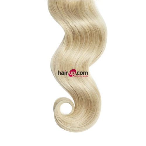 "26"" Ash Blonde(#24) 7pcs Clip In Synthetic Hair Extensions"
