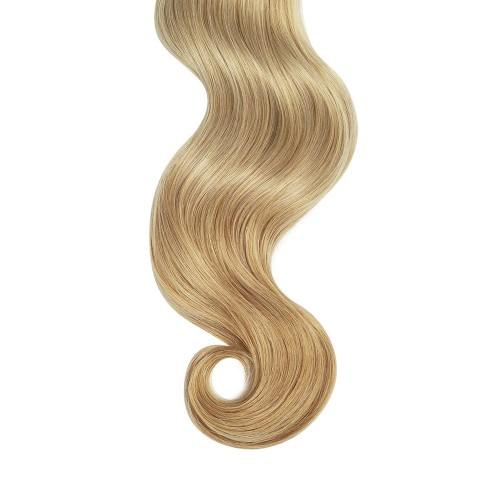 "24"" Strawberry Blonde(#27) 7pcs Clip In Human Hair Extensions"
