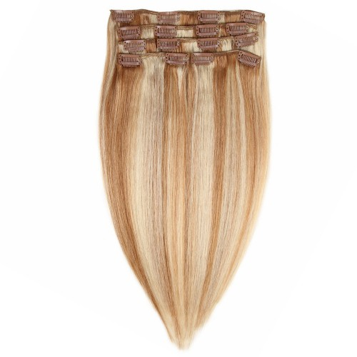 "14"" #12/613 7pcs Clip In Human Hair Extensions"