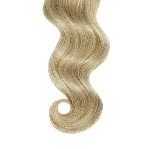 "14"" Blonde Highlight(#18/613) 7pcs Clip In Remy Human Hair Extensions"
