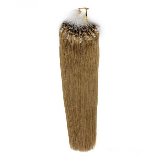 "24"" Golden Blonde(#16) 100S Micro Loop Remy Human Hair Extensions"