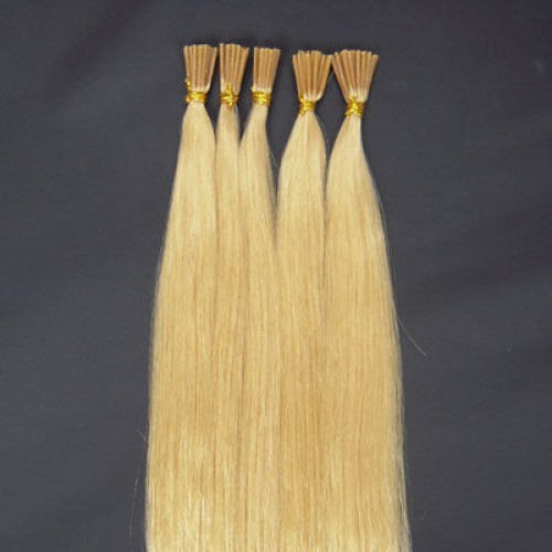 "24"" Bleach Blonde(#613) 100S Stick Tip Remy Human Hair Extensions"