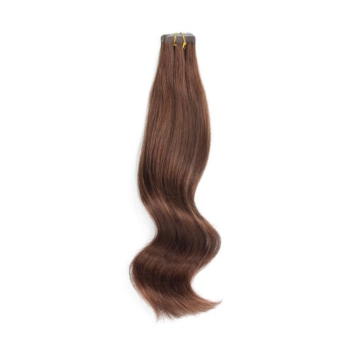 "16"" Natural Black(#1b) 20pcs Tape In Human Hair Extensions"