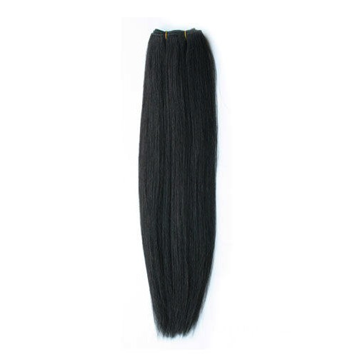 10 Inches*3 Kinky Straight Natural Black Virgin Brazilian Hair