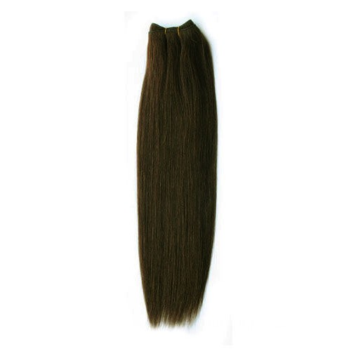 """10"""" Dark Brown(#2) Curly Indian Remy Hair Wefts"""