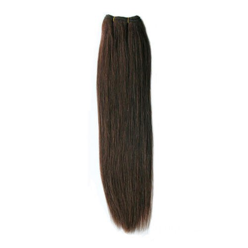 "10"" Medium Brown(#4) Light Yaki Indian Remy Hair Wefts"