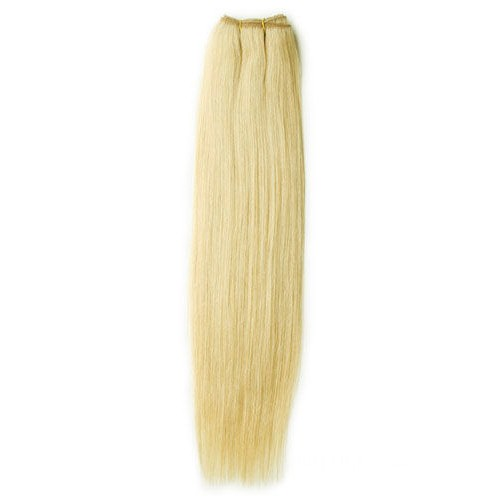 "12"" Ash Blonde(#24) Straight Indian Remy Hair Wefts"