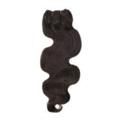 "20"" Jet Black(#1) Body Wave Indian Remy Hair Wefts"