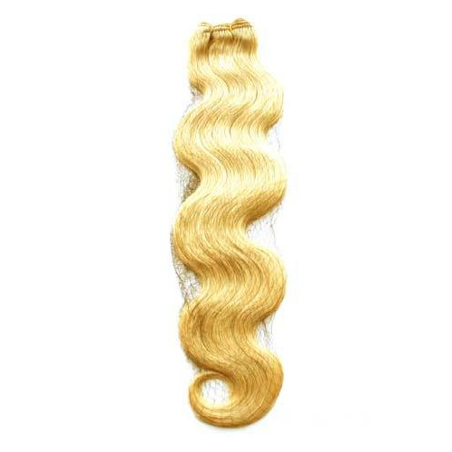 "16"" Ash Blonde(#24) Body Wave Indian Remy Hair Wefts"