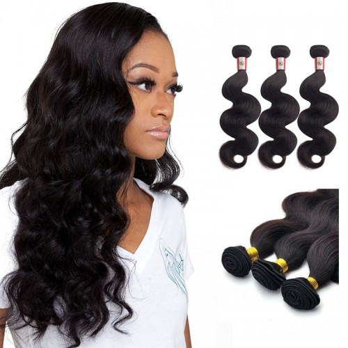 10/12/14 Inches Straight Natural Black Virgin Peruvian Hair