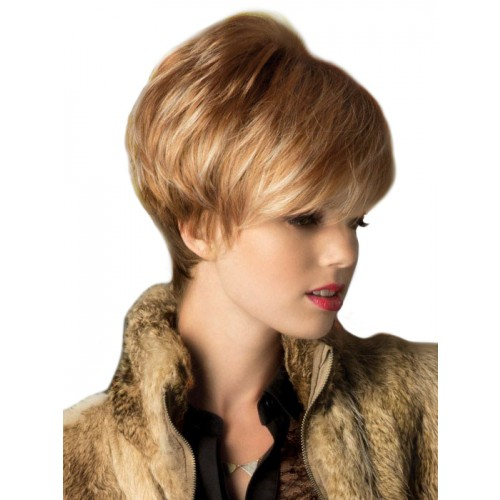 Straight Cut Irregular Wig For Women