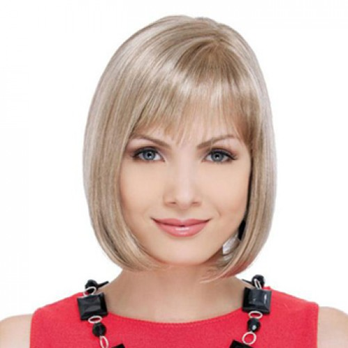 18 Inches Ash Blonde Wig
