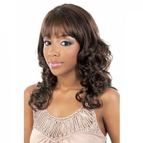 Synthetic Hair Wig Wavy Golden Blonde