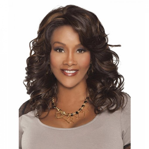 Shiny Flash Weave Synthetic Wig