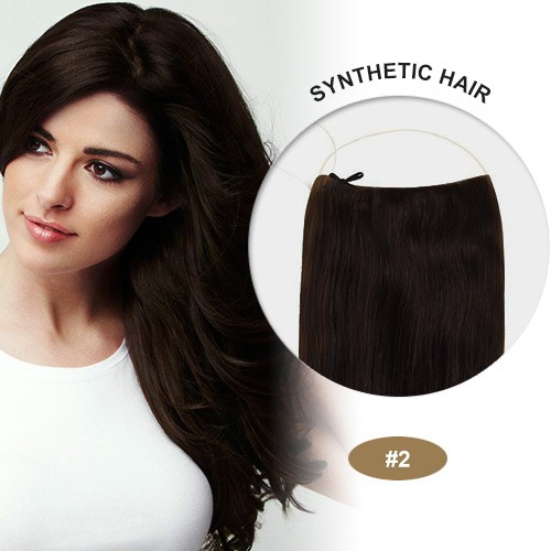 "COCO Synthetic Secret Hair 20"" Wavy Dark Brown(#2)"