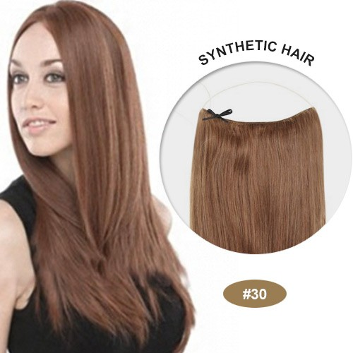 "COCO Synthetic Secret Hair 16"" Light Auburn(#30)"