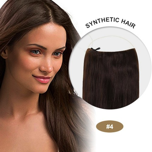 "COCO Synthetic Secret Hair 16"" Medium Brown(#4)"