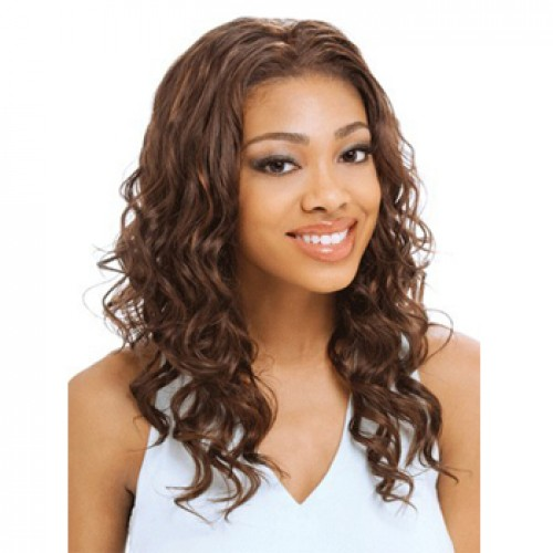 Human Hair Lace Front Wig Straight Natural Black