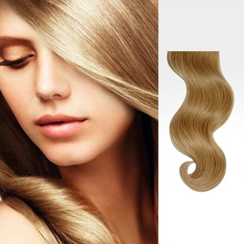 "20"" Golden Blonde(#16) 7pcs Clip In Remy Human Hair Extensions"