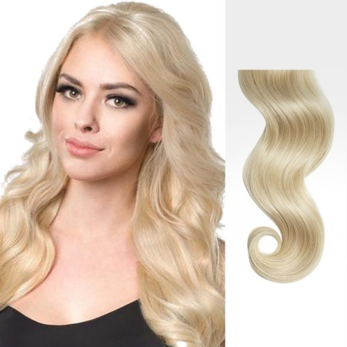 "20"" Ash Blonde(#24) 7pcs Clip In Remy Human Hair Extensions"