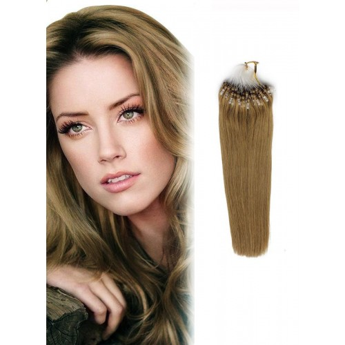 "26"" Golden Blonde(#16) 100S Micro Loop Remy Human Hair Extensions"