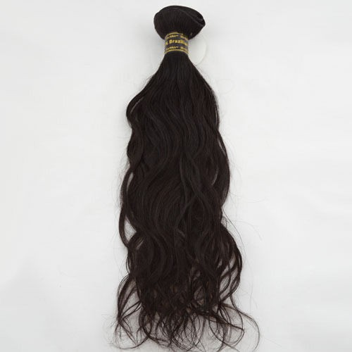 "24"" Dark Brown(#2) Natural Wave Indian Remy Hair Wefts"