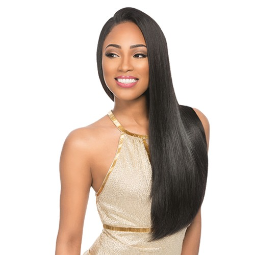 "18"" Off Black(#1B) 7pcs Remy Clip In Hair Extensions-KINGHAIR"