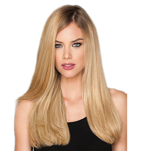 "22"" Dirty Blonde(#18) 7pcs Remy Clip In Hair Extensions-KINGHAIR"
