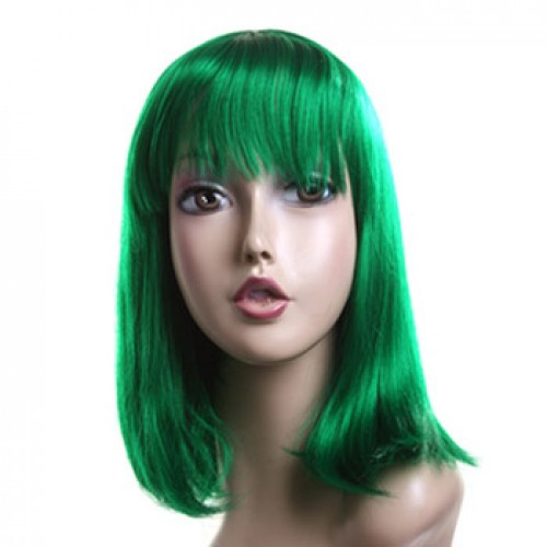 Costume Wig For Party Green