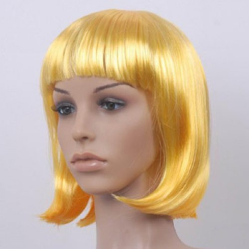Costume Wig For Party Yellow