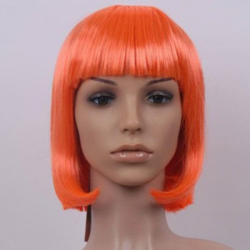 Costume Wig For Party Orange