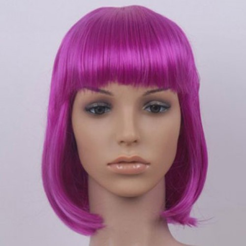Costume Wig For Party Lila