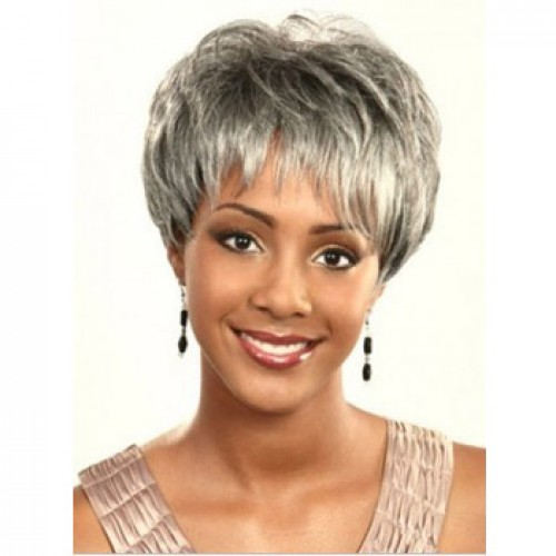 African American Hair Wig Straight Swedish Blonde