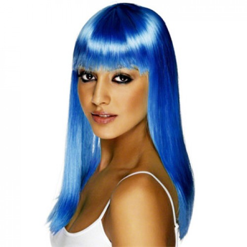 Women's Costume Wig For Party Blue
