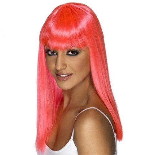 Women's Costume Wig For Party Pink