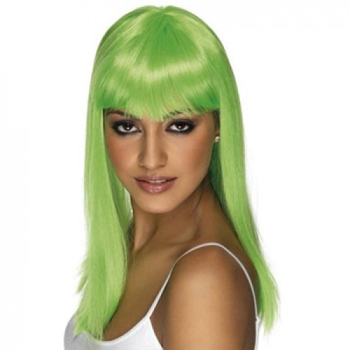 Women's Costume Wig For Party Green