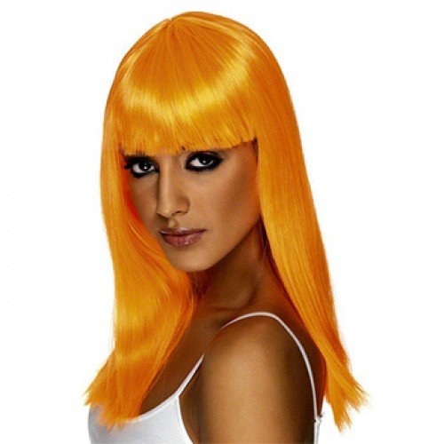 Women's Costume Wig For Party Orange