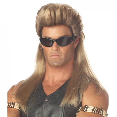 Men's Costume Wigs For Party Dark Blonde