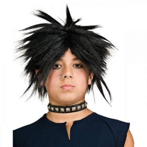 Children's Costume Wigs Black