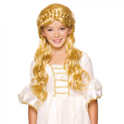 Children's Costume Wigs Golden Blonde
