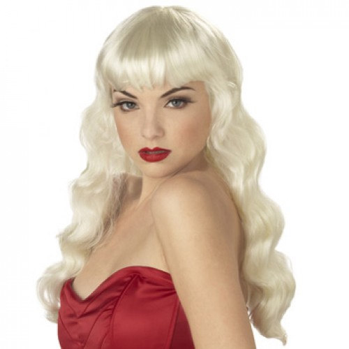Women's Costume Wig For Party White