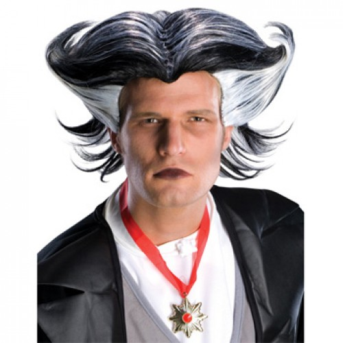 Men's Costume Wigs For Party Black/White