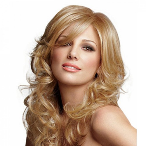 Long Curly Blonde Hair Wig