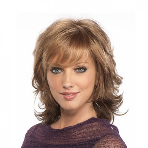 Elegant Brown Hair Wig