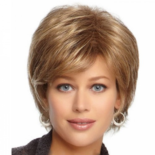 Short Highlight Hair Wig